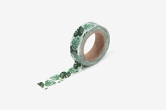 DMT1S102 Cinta adhesiva masking tape washi monstera Dailylike