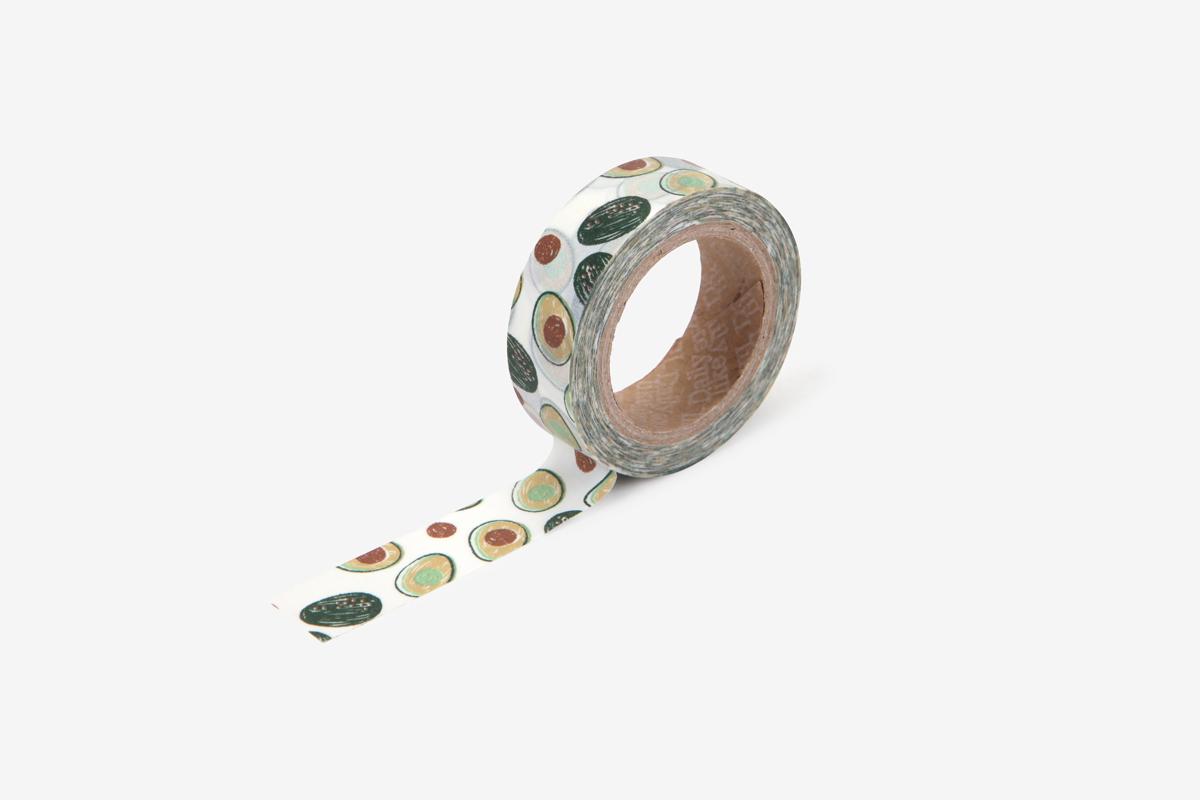 DMT1S104 Cinta adhesiva masking tape washi avocado Dailylike