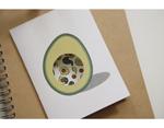 DMT1S104 Cinta adhesiva masking tape washi avocado Dailylike - Ítem2