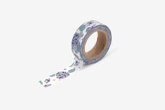 DMT1S105 Cinta adhesiva masking tape washi hydrangea Dailylike