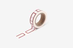 DMT1S107 Cinta adhesiva masking tape washi name tag Dailylike