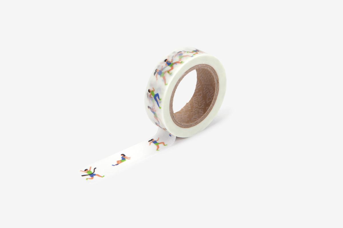 DMT1S109 Cinta adhesiva masking tape washi athlete Dailylike