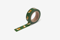 DMT1S110 Cinta adhesiva masking tape washi shiba Dailylike