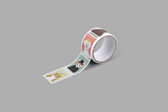 DMT1S113 Cinta adhesiva masking tape washi sellos animal Dailylike