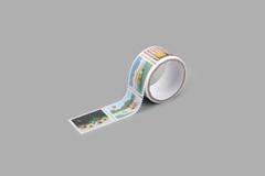 DMT1S115 Cinta adhesiva masking tape washi sellos camping Dailylike