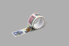 DMT1S119 Cinta adhesiva masking tape washi sellos landmark Dailylike
