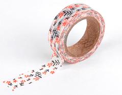 DMT1S11 Cinta adhesiva masking tape washi wild flower Dailylike