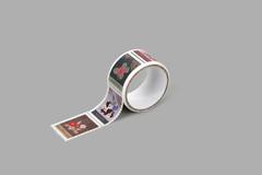 DMT1S120 Cinta adhesiva masking tape washi sellos flower Dailylike