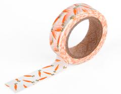 DMT1S17 Cinta adhesiva masking tape washi carrot Dailylike