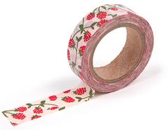 DMT1S24 Cinta adhesiva masking tape washi raspberry Dailylike