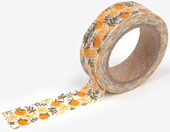 DMT1S26 Cinta adhesiva masking tape washi tangerine Dailylike