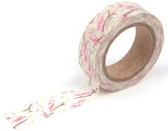 DMT1S27 Cinta adhesiva masking tape washi birdsong Dailylike