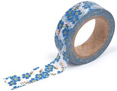 DMT1S29 Cinta adhesiva masking tape washi forget-me-not Dailylike