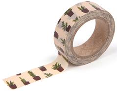 DMT1S30 Cinta adhesiva masking tape washi succulent Dailylike