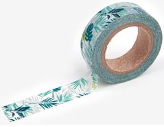 DMT1S35 Cinta adhesiva masking tape washi leaf Dailylike