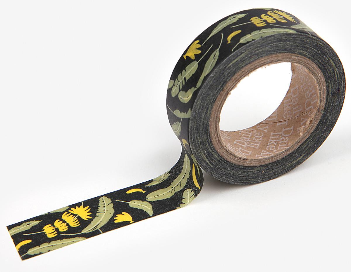 DMT1S36 Cinta adhesiva masking tape washi banana tree Dailylike