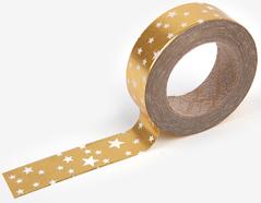 DMT1S38 Cinta adhesiva masking tape washi starry gold Dailylike