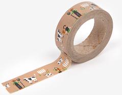 DMT1S40 Cinta adhesiva masking tape washi farm Dailylike