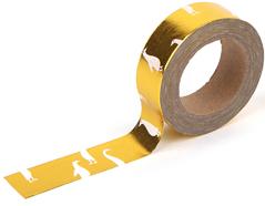 DMT1S48 Cinta adhesiva masking tape washi goose gold Dailylike