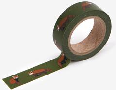 DMT1S51 Cinta adhesiva masking tape washi lesser panda Dailylike