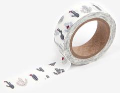 DMT1S52 Cinta adhesiva masking tape washi cactus Dailylike