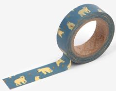 DMT1S53 Cinta adhesiva masking tape washi friendly bear Dailylike