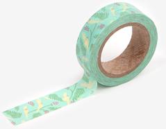 DMT1S54 Cinta adhesiva masking tape washi cockatiel Dailylike