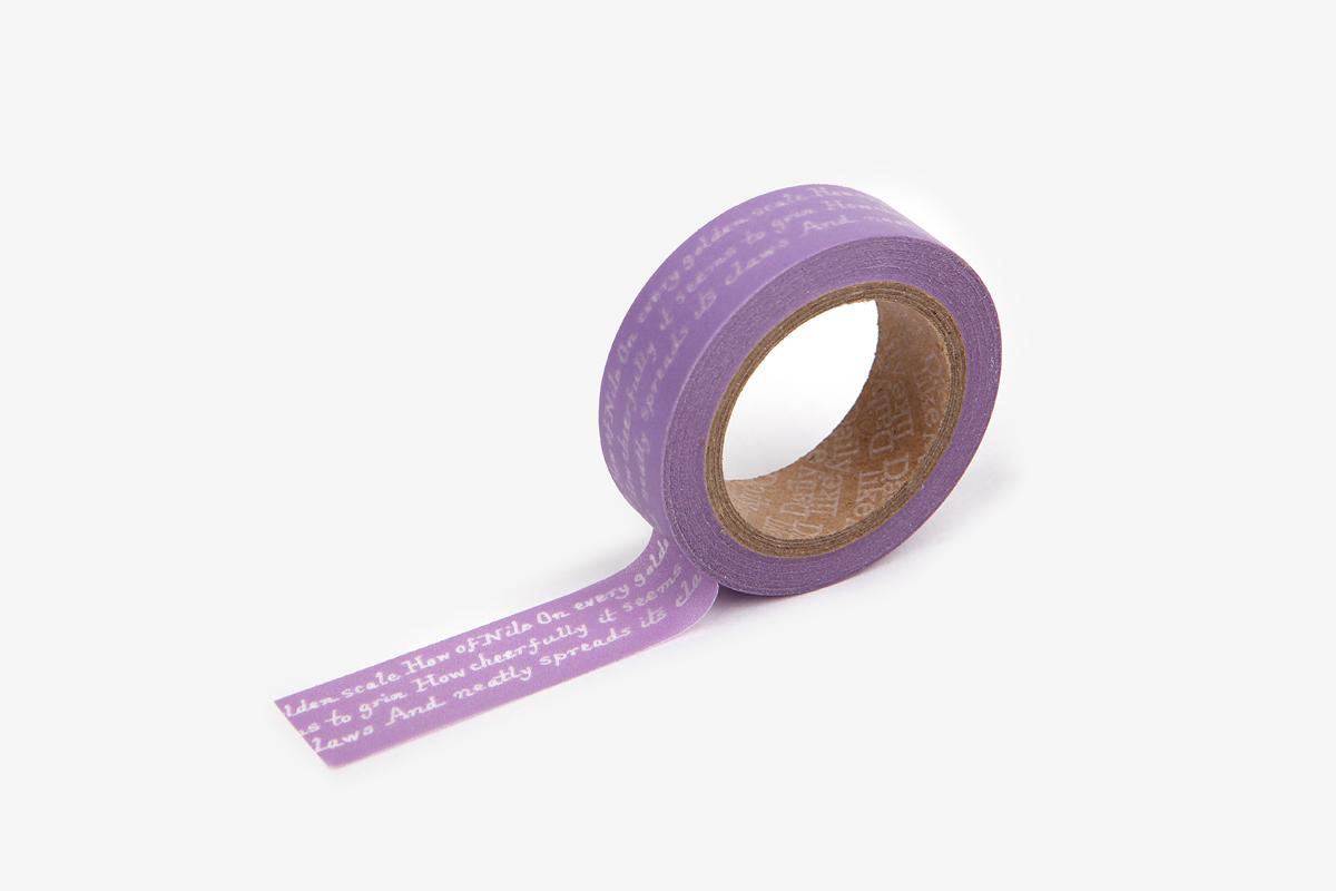 DMT1S64 Cinta adhesiva masking tape washi dear lettering Dailylike