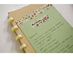 DMT1S69 Cinta adhesiva masking tape washi cooking Dailylike - Ítem2