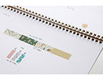 DMT1S70 Cinta adhesiva masking tape washi camping map Dailylike - Ítem2