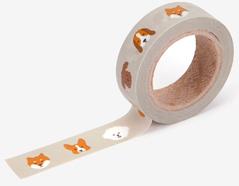 DMT1S77 Cinta adhesiva masking tape washi puppy Dailylike