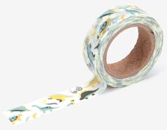 DMT1S79 Cinta adhesiva masking tape washi dinosaur Dailylike