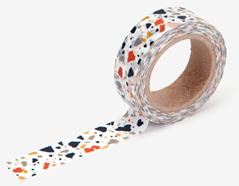 DMT1S84 Cinta adhesiva masking tape washi terrazzo Dailylike