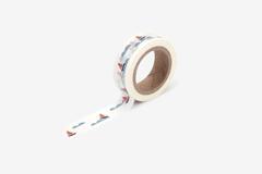 DMT1S99 Cinta adhesiva masking tape washi boat Dailylike