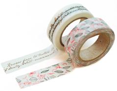 DMT2S04 Set 2 cintas adhesivas masking tape washi runa Dailylike
