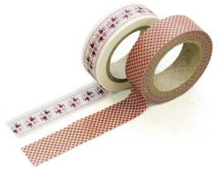 DMT2S10 Set 2 cintas adhesivas masking tape washi martha Dailylike
