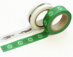 DMT2S12 Set 2 cintas adhesivas masking tape washi rei Dailylike