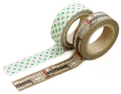 DMT2S14 Set 2 cintas adhesivas masking tape washi benny Dailylike