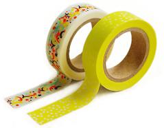 DMT2S23 Set 2 cintas adhesivas masking tape washi frank Dailylike