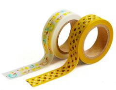 DMT2S24 Set 2 cintas adhesivas masking tape washi bonny Dailylike