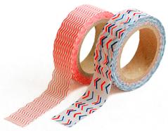 DMT2S27 Set 2 cintas adhesivas masking tape washi amuze Dailylike