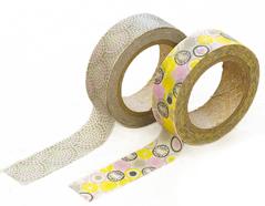 DMT2S36 Set 2 cintas adhesivas masking tape washi promnade Dailylike