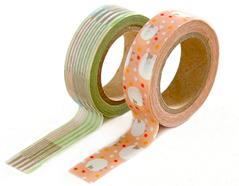 DMT2S40 Set 2 cintas adhesivas masking tape washi comfy Dailylike