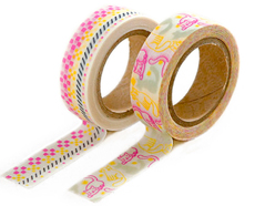 DMT2S41 Set 2 cintas adhesivas masking tape washi afternoon Dailylike