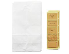 DPLB02 Set 10 sobres papel blancos con etiquetas Dailylike
