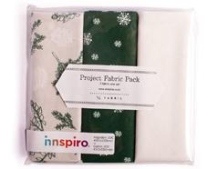 DPP06 Set 3 telas precortadas quarter pack de algodon winter tree Dailylike