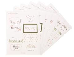 DPS03 Pegatinas papel thank you sticker disenos surtidos Dailylike
