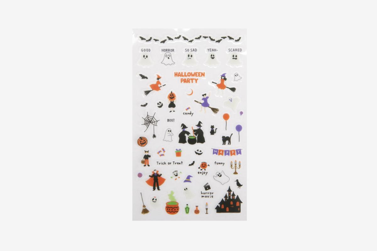 DPS26 Pegatinas pvc daily sticker Halloween formas y disenos surtidos Dailylike