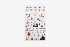 DPS26 Pegatinas pvc daily sticker Halloween formas y disenos surtidos Dailylike - Ítem