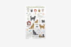 DPS40 Pegatinas pvc daily sticker jingo dog formas y disenos surtidos Dailylike